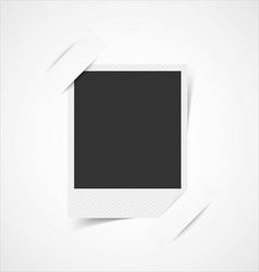 Empty photo frame corners vector image vector image
