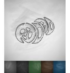 kimpab icon Hand drawn vector image vector image