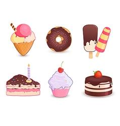 Dessert vector