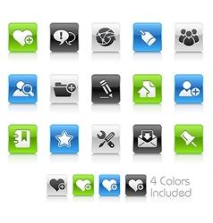 Internet Blog Clean Series vector image