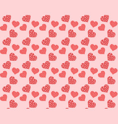 theme pattern valentines day vector image