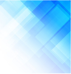abstract blue background with square shapes vector image