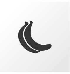 banana icon symbol premium quality isolated vector image