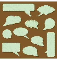 communication bubbles vector image