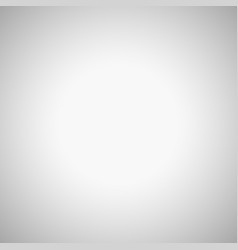 Empty grey blurred background with radial gradient vector