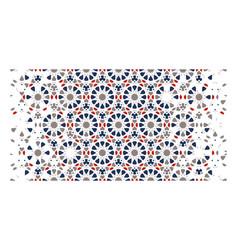 Morocco tile pattern geometric moroccan vector