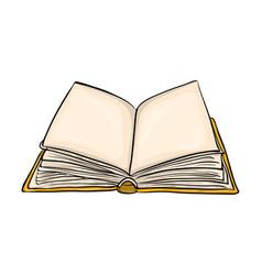 open book cartoon symbol icon design beautiful vector image