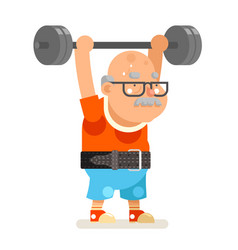 Powerlifting fitness healthy activities vector