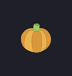 Pumpkin computer symbol vector image