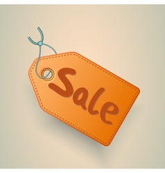 Sale price tag label vector image