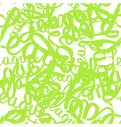 Seamless pattern graffiti lettering vector image