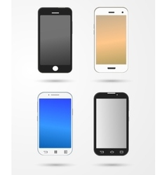 Smartphone and mobile collection vector