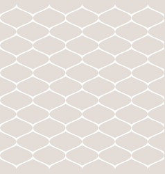 subtle monochrome seamless pattern of mesh vector image