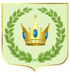 crown symbol vector image