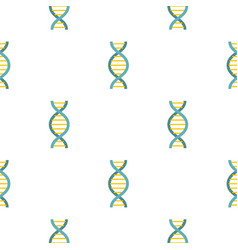 dna symbol pattern flat vector image vector image