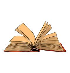 open book symbol icon design beautiful vector image