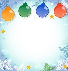 christmas b vector image vector image