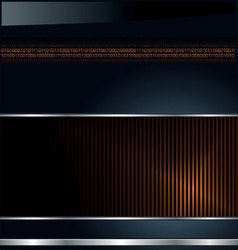 modern glossy background vector image