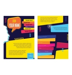 Business infographic concept layout for vector image