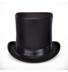 Top hat icon vector image vector image