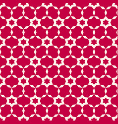 abstract seamless pattern simple red geometric vector image