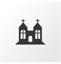 Chapel icon symbol premium quality isolated vector