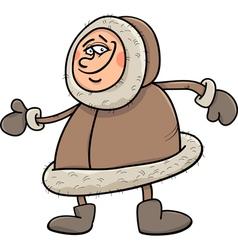 Eskimo cartoon vector