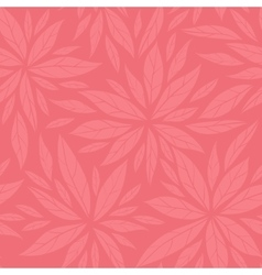 Monochrome seamless floral decorative pattern vector image