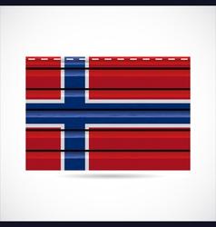 Norway siding produce company icon vector image vector image