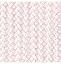 Seamless pattern with braids texture vector