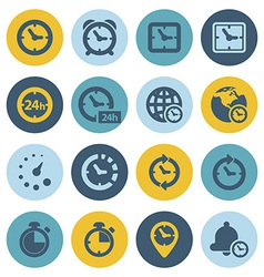 Time icons vector