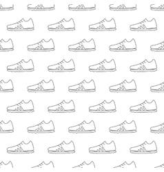 Football pattern seamless vector image
