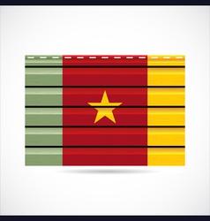 Cameroon siding produce company icon vector image vector image