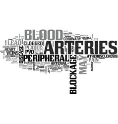 What is peripheral vascular disease text word vector