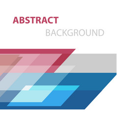Abstract background with geometric overlapping vector