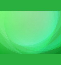 Abstract curved green background vector