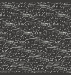 abstract lines and waves seamless pattern vector image