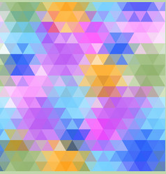 abstract multicolored polygon low polygon vector image