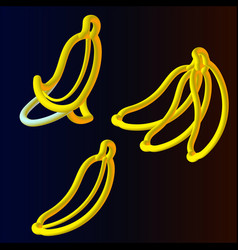 banana3 vector image