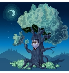 Night Forest Design vector
