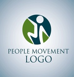 PEOPLE MOVEMENT LOGO 6 vector