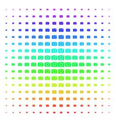 photo camera shape halftone spectrum pattern vector image