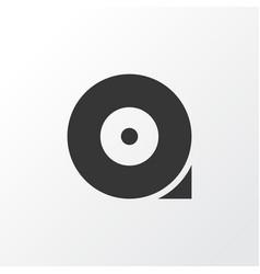 chocked wheel icon symbol premium quality vector image