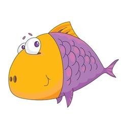 fish big vector image vector image