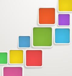 Color blocks vector