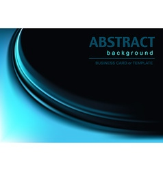 Background with Blue Effect vector image