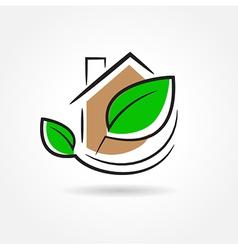 building development symbol emblem vector image