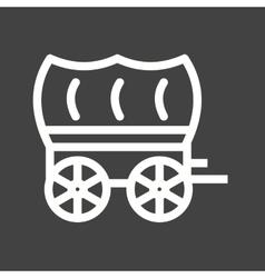 Cart vector image