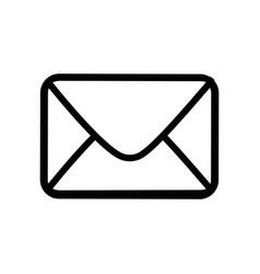 envelope paper blank vector image