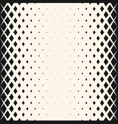 Geometric halftone seamless pattern vector